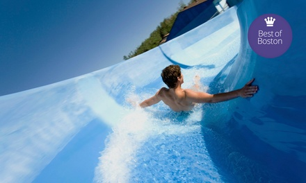 Water-Park Visit with a Zipline Ride and Mini Golf for Two or Four at Liquid Planet Water Park (Up to 69% Off)