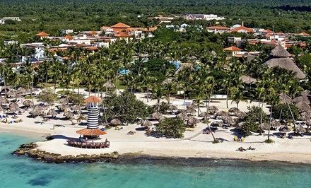 4-, 6-, or 7-Night All-Inclusive Dominican Stay with Airfare. Price/Person Based on Double Occupancy. Incl. Taxes/Fees.