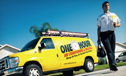 Air-Conditioner Tune-Up with Optional Diagnostic from One Hour Heating & Air Conditioning (Up to 72% Off)