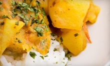 Indian Fare at Currylicious in Oakland. (Up to 53% Off). Two Options Available.