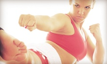 10 or 20 Kickboxing or Zumba Classes at Fight Fit Kick Boxing (Up to 75% Off)