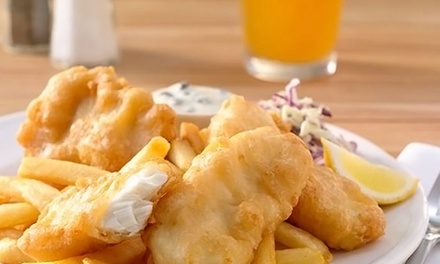 $15 for Fish and Chips for Two at Portland Seafood Company ($21.98 Value)