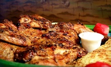 Mediterranean Food for Two or Four (Up to 52% Off) at Goood Frikin Chicken