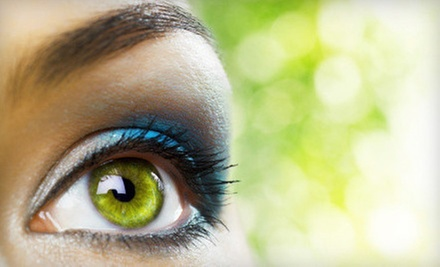Permanent Makeup on the Upper Eyelids, Lower Eyelids, or Both at The Powderoom (Up to 77% Off)