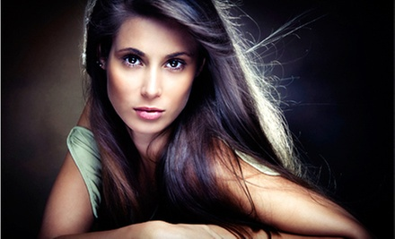 Express Keratin Treatment with Cut and Style or Full Keratin Treatment at Lisa Thomas Salon (Up to 57% Off)