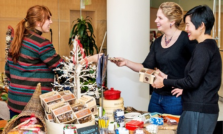 Holiday Art Fair Admission for Two, Four, or Six at MMoCA and The Overture Center (50% Off)