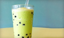 $6 for $12 Worth of Bubble Tea, Ice Cream, Coffee, and Desserts at Kaleo Cafe Bubble Tea + Coffee