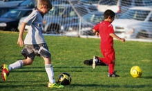 Eight-Week Soccer League for Kids Aged 4 and Younger, or 5–7 from Greensboro United Soccer Association (Up to 55% Off)