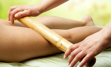 A 60-Minute Bamboo Massage at Jenny's Touch Therapeutic Massage Therapy (45% Off)