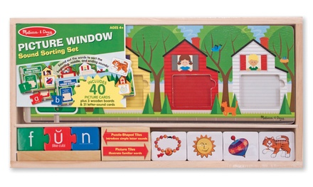 Melissa & Doug Picture Window Sound Sorting Set