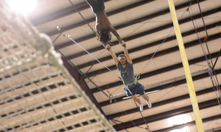 One- or Two-Hour Flying-Trapeze Lesson at Trapeze Austin (Up to 50% Off)