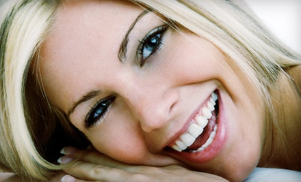 Exam, X-rays, and Take-Home or In-Office Zoom! Teeth-Whitening Treatment at Haddonfield Dental (Up to 89% Off)