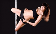 One Pole-Dancing Class for Two or Five Pole-Dancing Classes for One at Dollhouse Pole Dance Studio (53% Off) 
