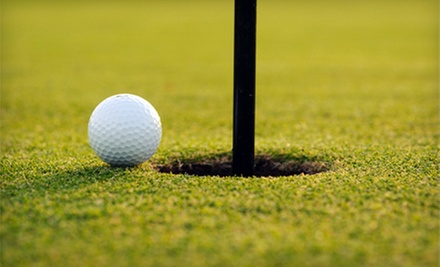 18-Hole Round of Golf for Two or Four with Cart and Food or Drink Credit at Deer View Golf Course (Up to 53% Off)
