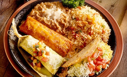 Mexican Dinner for Two or Four with Appetizers, Entrees, and Drinks at Don Juan Mexican Restaurant‎ (Up to 58% Off)