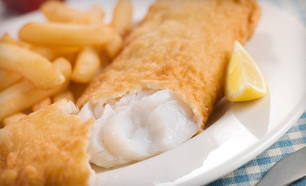 Pub Food at Irish Twins Pub (Up to 56% Off). Two Options Available.
