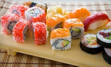 Sushi and Japanese Food for Dinner at Kabuki Japanese Steakhouse & Sushi Bar (Half Off). Two Options Available.