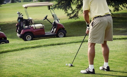 18-Hole Round of Golf for Two or Four with Cart Rental at Indian Run Golf Course (Up to 52% Off)