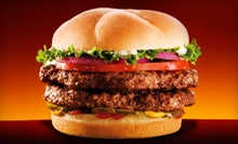 American Food and Drinks at Back Yard Burgers (Half Off). Two Options Available. 