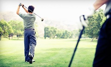 18-Hole Round of Golf with Cart Rental for Two or Four at Cherry Valley Golf Course (Up to 55% Off)