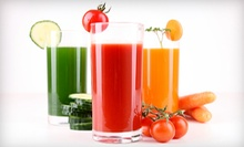 Raw-Food Cleanse, Juice Cleanse, or Raw Food at Khepra's Raw Food Juice Bar. (Up to 62% Off) Five Options Available.