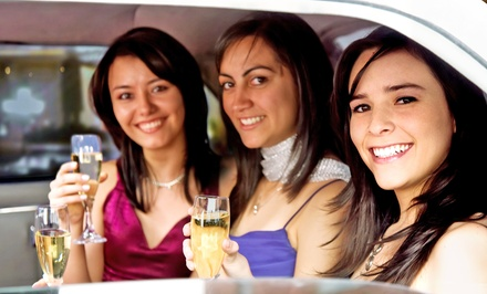 Airport Car Service or Wine-Country Limo Tour from Social Limousine (Up to 65% Off). Four Options Available.