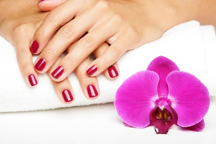 One or Three Gel Manicures, Including Prior Gel Removal at The Lucky Waxing Company (Up to 54% Off)