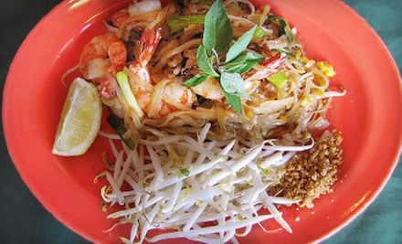 Thai Cuisine and Drinks at Spicy Thai (Up to 53% Off). Two Options Available.