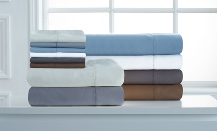 1,100-Thread-Count 6pc Grand Patrician Cotton Rich Sheet Set from $59.99–$64.99
