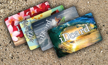 One 30-Day Discount Card, or One or Two 1-Year Cards from iDcard (Up to 56% Off)