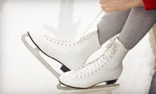 Four Weeks of 30-Minute Ice-Skating Lessons for One or Two at Floyd Hall Arena (Up to 59% Off)