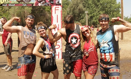 One Registration for the 5K Mud 'n Blood Zombie Run at Hobb's Grove on Sunday, May 31 (48% Off)