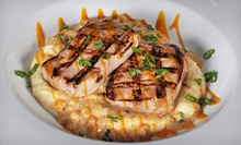 American Food at Bonfire Bar &amp; Grill (Half Off). Two Options Available.