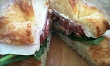 Sandwiches, Soups, and Pastries for Two or Four or Five-Sandwich Punch Card at Sariano's Country Cafe (Up to 53% Off)