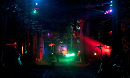 Haunted Hayride and Halloween Scream Park for Two or Four at Witch's Woods (Up to 41% Off)
