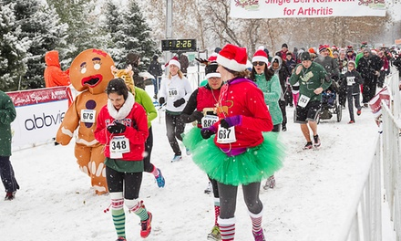 One or Two Entries to The Arthritis Foundation Jingle Bell Run/Walk 5K on December 6, 13, or 14 (Up to 50% Off).