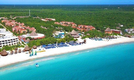 Groupon Deal: All-Inclusive Catalonia Playa Maroma Stay with Airfare. Price Per Person Based on Double Occupancy. Incl. Taxes & Fees.