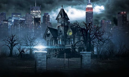 $22 for Timed Ticketing Entry to Blood Manor on October 16, 17, 18, 19, or 22 ($33.50 Value). 39 Options Available