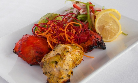 Indian Meal for Two or Four with Appetizers and Naan at Brick Lane Curry House (Up to 40% Off)