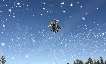 $75 for a Skiing-and-Snowboarding Platinum-Membership Package with Discounts from SnowBomb