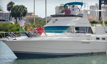 $159 for a Three-Course Dinner and Three-Hour Semiprivate Cruise for Two from Gulfside Adventures ($318 Value)