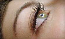 Set of Eyelash Extensions with 15, 25, or 50 Lashes Per Eye at AZ Lash Lady (Up to 75% Off)