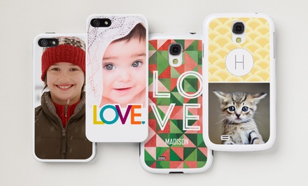 Custom Lightweight or Protective iPhone and Samsung Galaxy Phone Cases from Vistaprint for $7 or $11