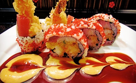 Japanese-French Fusion and Thai Cuisine for Dinner for Two or Four at Laverne of Great Neck (Half Off)