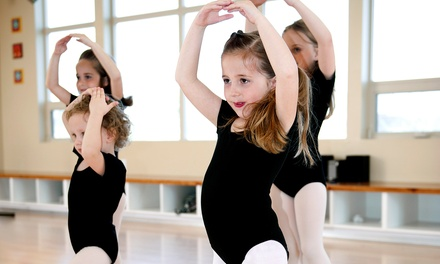One or Two Months of Weekly Kids' Dance Classes at DMB Dance Productions (Up to 51% Off)
