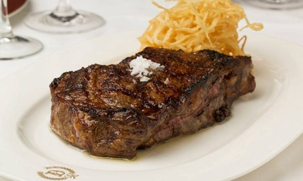 Steak-House Cuisine at Delmonico's Kitchen (Up to 43%Off). Two Options Available.