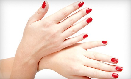 One or Three Shellac Manicures at Quickii Nails (Up to 57% Off)