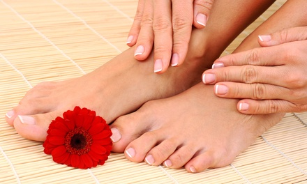 Mani-Pedis from Katie Zigler at Allure Grand Salon (Up to 52% Off). Three Options Available.