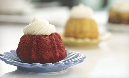 $10 for $20 Worth of Baked Goods at Nothing Bundt Cakes