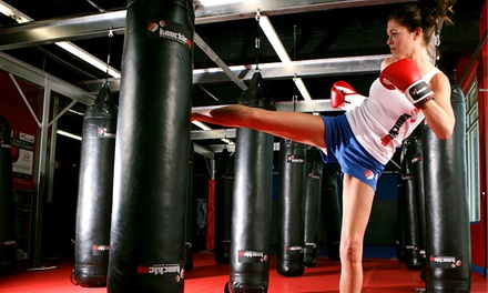 One Month Unlimited Kickboxing or Martial Arts Classes at KnuckleUp Fitness (Up to 81% Off)